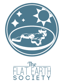 Logo of the Flat Earth Society