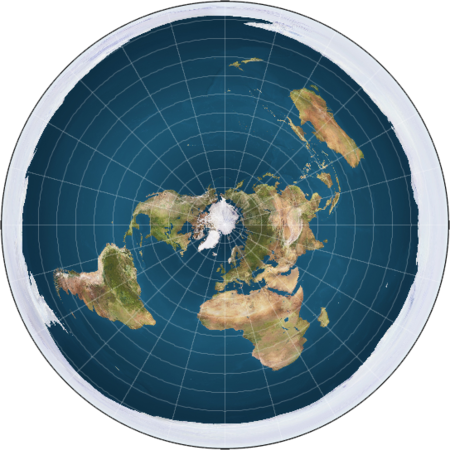 Flat Earth Society Map Flat Earth Maps   The Flat Earth Wiki Flat Earth Society Map