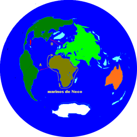 Sandokhan's Flat Earth Map