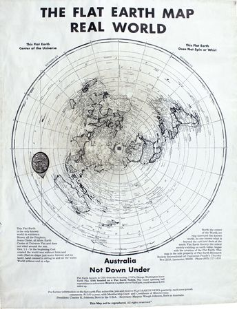 1892 Map Of The World.Flat Earth Maps The Flat Earth Wiki